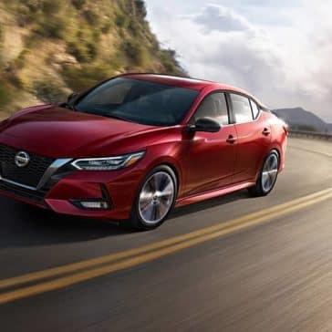 2020 Nissan Sentra Driving