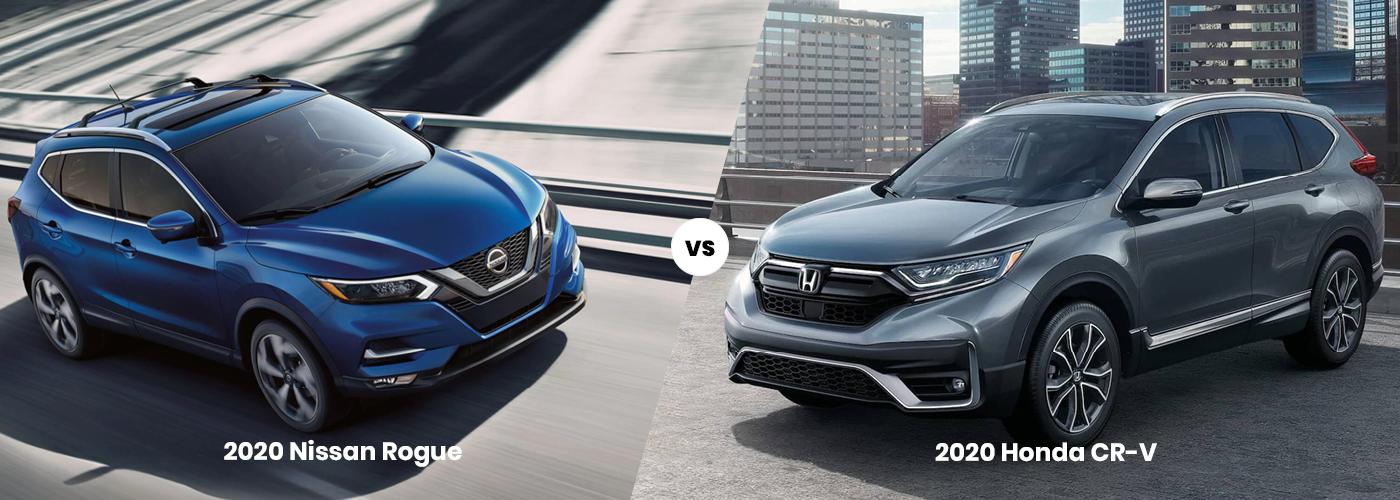 2020 Nissan Rogue vs. 2020 Honda CR-V