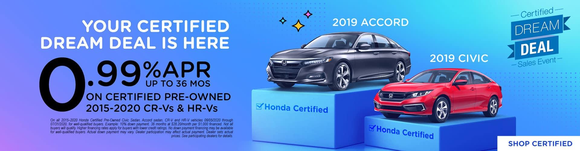Shop Certified Now