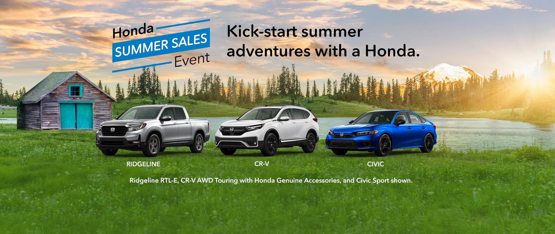 honda summer sales event 1800x760