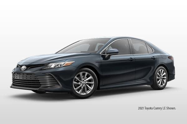 New 2021 Toyota Camry LE Sedan