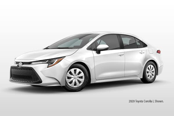 New 2021 Toyota Corolla L Sedan