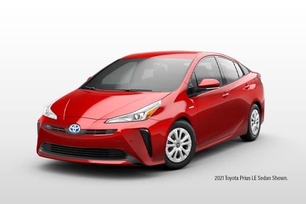 New 2021 Toyota PRIUS LE FWD Sedan