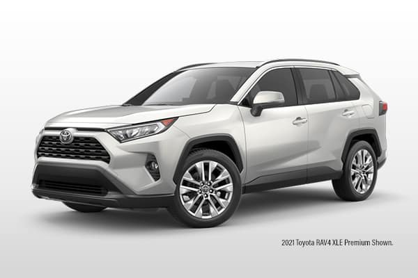 New 2021 Toyota RAV4 LE AWD SUV