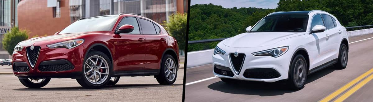 2020 Alfa Romeo Stelvio vs 2019 Alfa Romeo Stelvio
