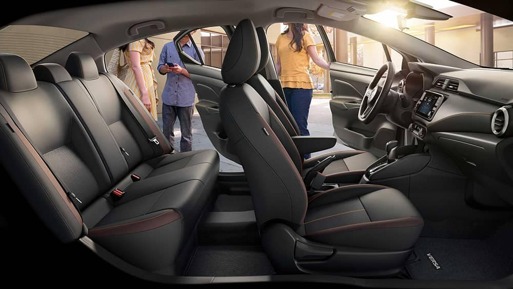 2020 Nissan Versa Seating