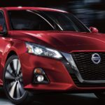 2020 red nissan altima