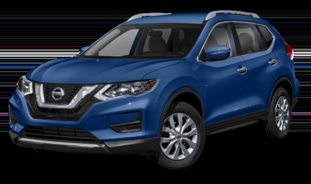 Blue Nissan Rogue