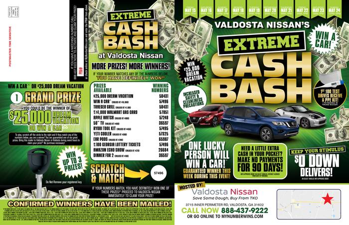 Cash Bash Event