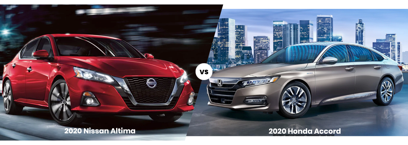 2020 Nissan Altima vs. 2020 Honda Accord