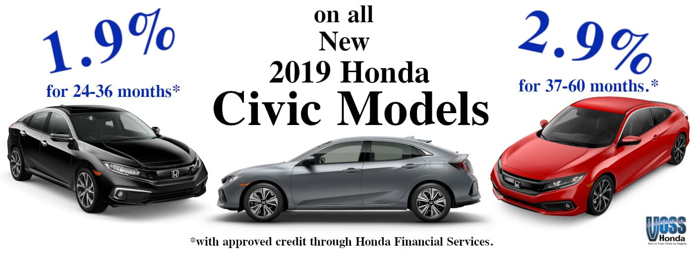 Special Civic Finanace Offer