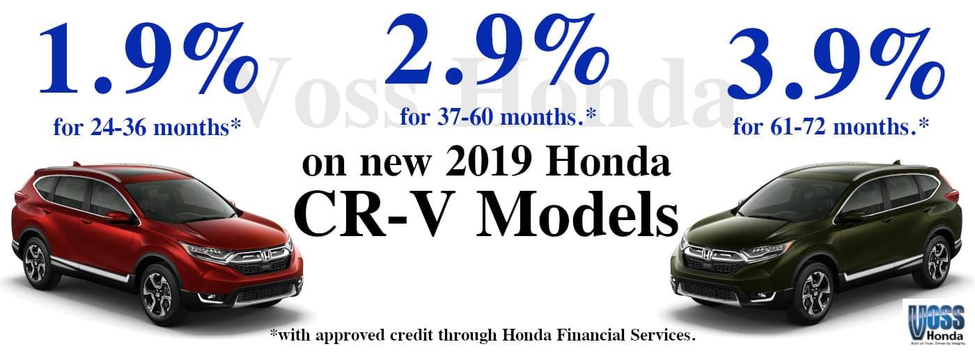 2019 CRV APR Special