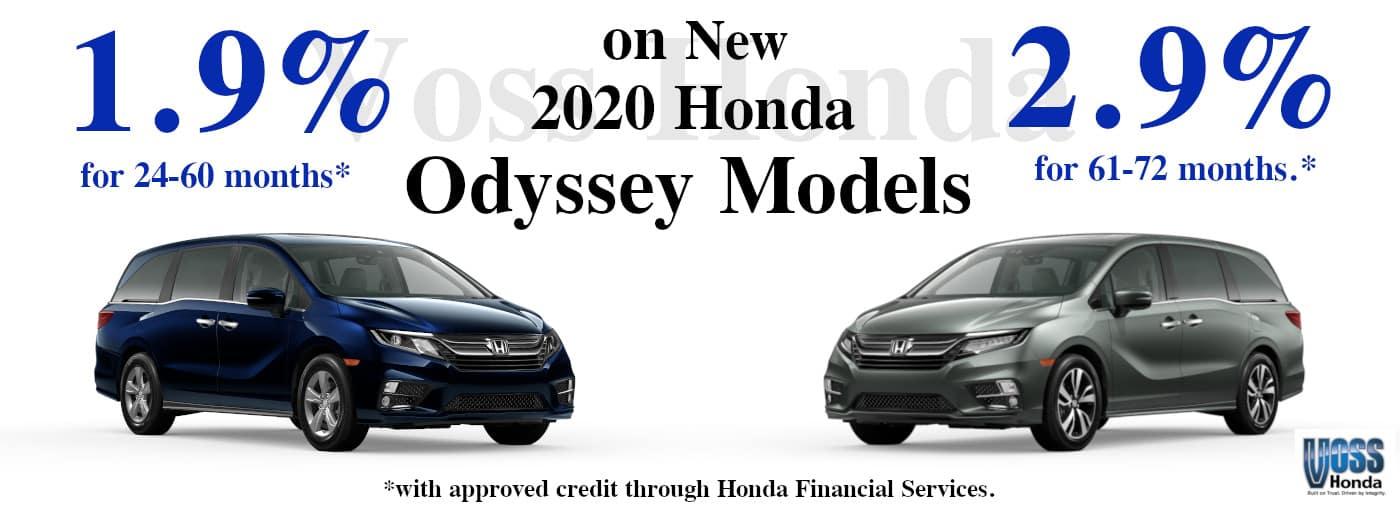 2020 Odyssey APR Special