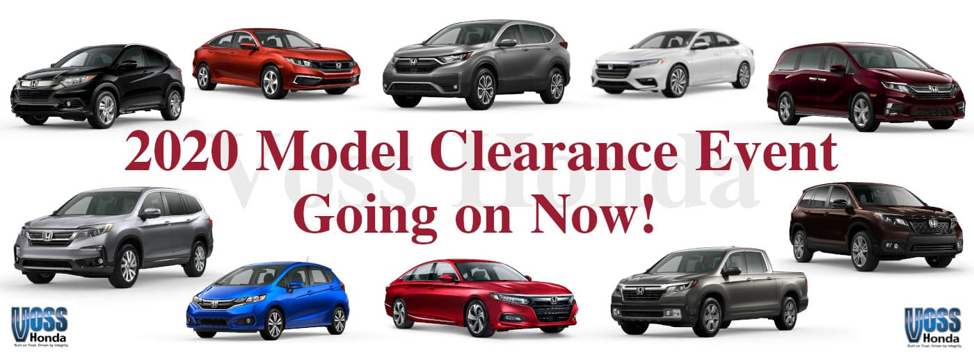 2020 Model Clearance Event