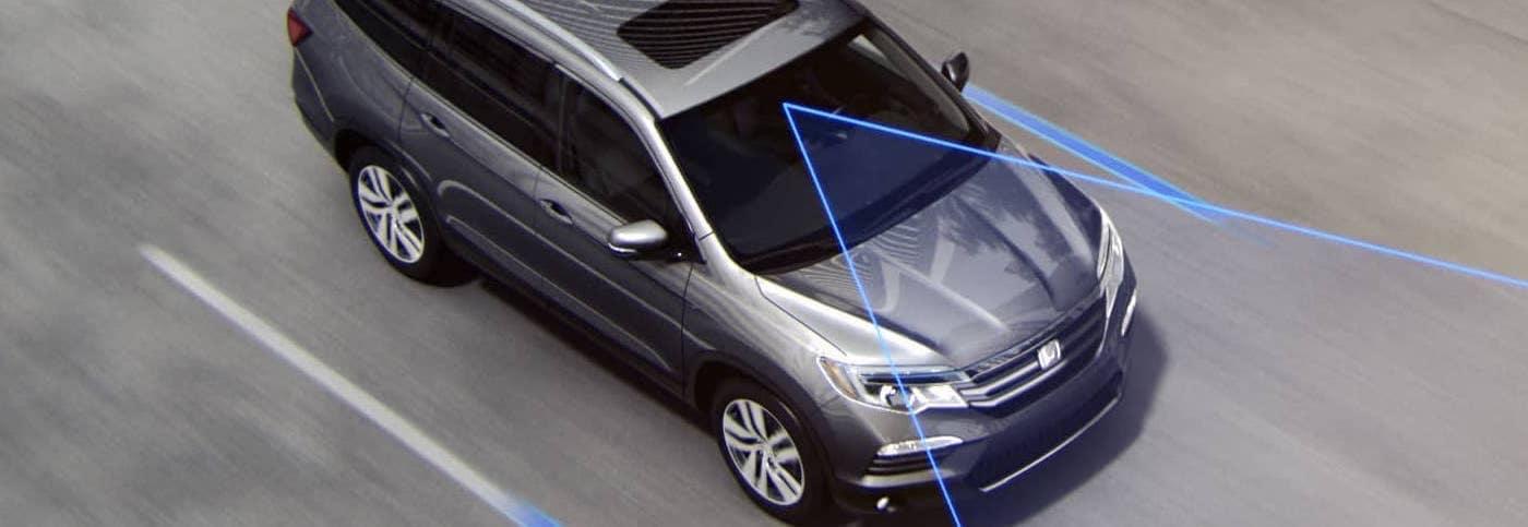 Car with Lane Departure Warning
