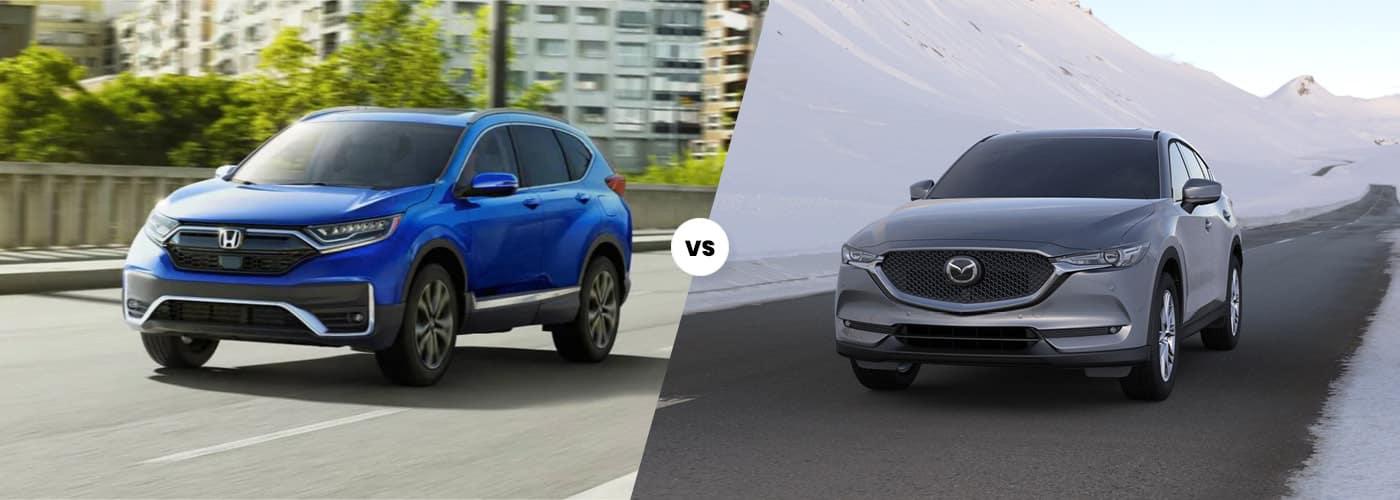 2020 Honda CR-V vs. Mazda CX-5