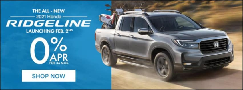 2021 Ridgeline Special APR available