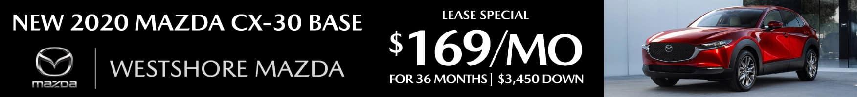 Mazda cx-30 base lease special