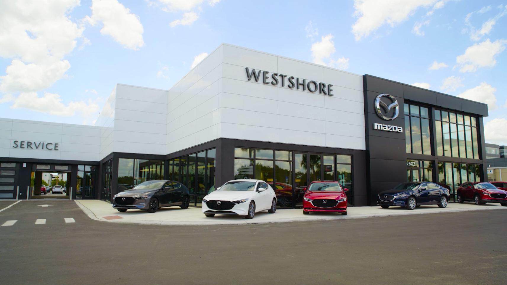 Westshore Mazda Now Open