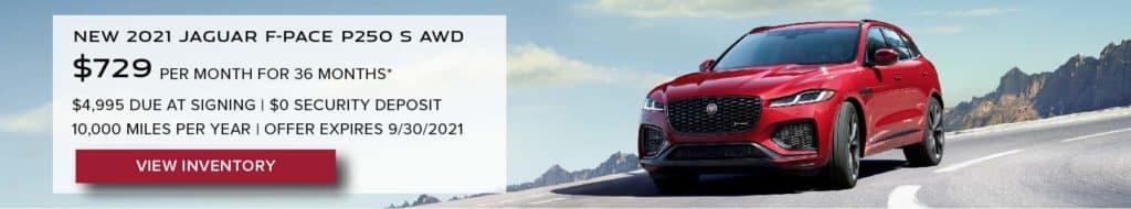 Jaguar Westside_New 2021 F-PACE Lease