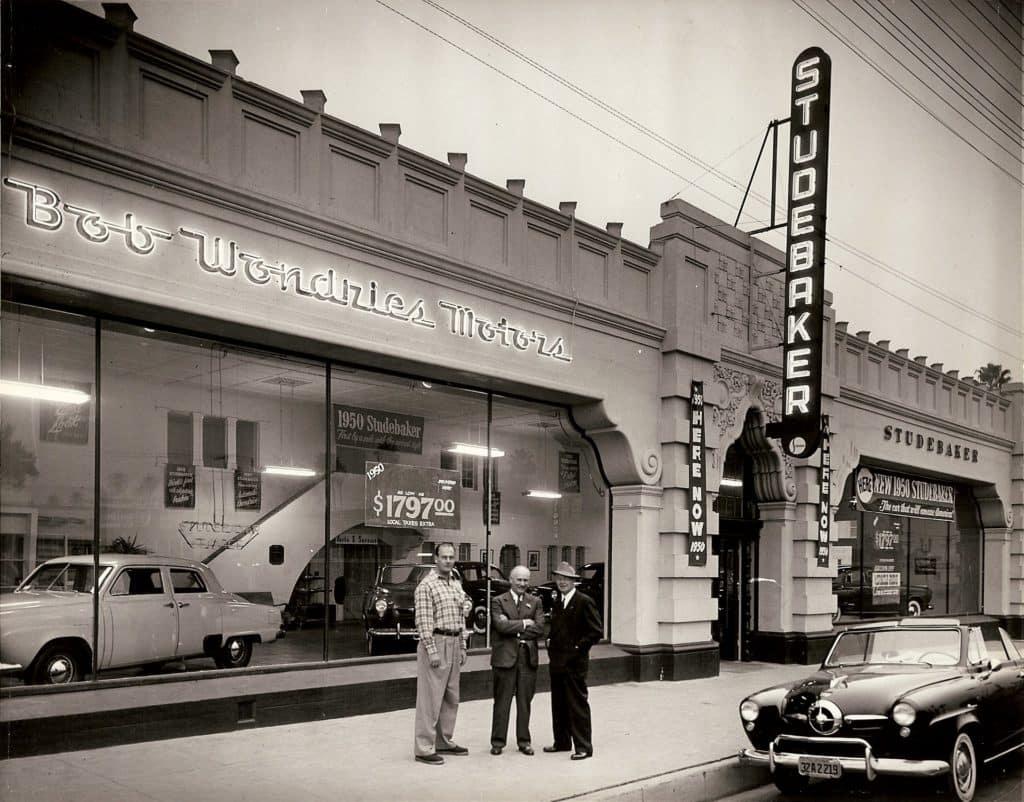 Bob Wondries Motors in 1949 - Wondries Toyota - Alhambra, CA