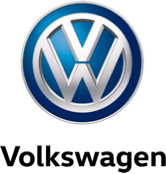 VW Logo with black text